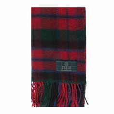 MacNaughton Tartan Scarf from Gretna Green #TartanScarf #PlaidScarf £14.99