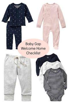 Baby Gap Newborn Checklist