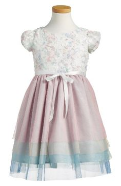 Free shipping and returns on Little Angels Cap Sleeve Dress (Toddler Girls & Little Girls) at Nordstrom.com. A lacy bodice and tiered mesh skirt make this cap-sleeve dress a dreamy option for any special occasion.