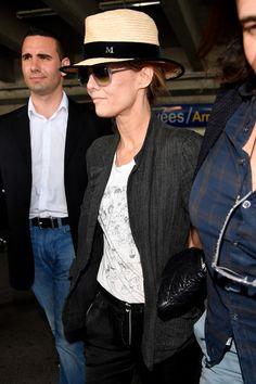Vanessa Paradis lors de son arrivée à Cannes