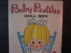 vintage 1968 whitman uneeda doll co. baby peewee, 4 paper dolls w/clothes on Etsy, $10.00