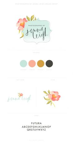 Branding graphic example - do this for your logo and colors