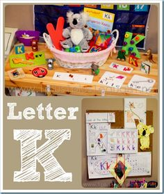 Home Preschool ~ Letter K