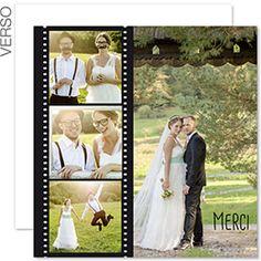 1000 images about cartes de remerciements mariage on pinterest mariage wedding thank you. Black Bedroom Furniture Sets. Home Design Ideas