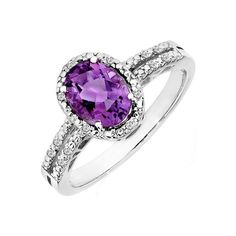 purple gem stone jewelry