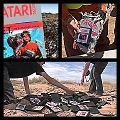 """@axeofmalice's photo: """"I've got to admit this is pretty cool. After several decades the urban legend is put to rest. Don't screw with the consumer or you'll get buried in the #NewMexico Desert. #Atari #2600 #ET #TheVideoGameCrash #RetroGaming"""""""