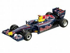 The Carrera Red Bull RB7 Sebastian Vettel No2 Evolution Series Slot Car, is a superbly detailed Carrera Evolution race car for use on any 1/32 analogue slot car layout layout.