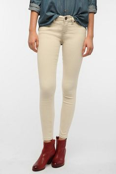 BDG Twig Mid-Rise Jean - Winter White