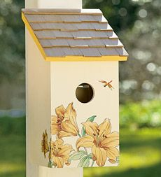Strictly for the birds - Saltbox Birdhouse - Wind & Weather - $29.95