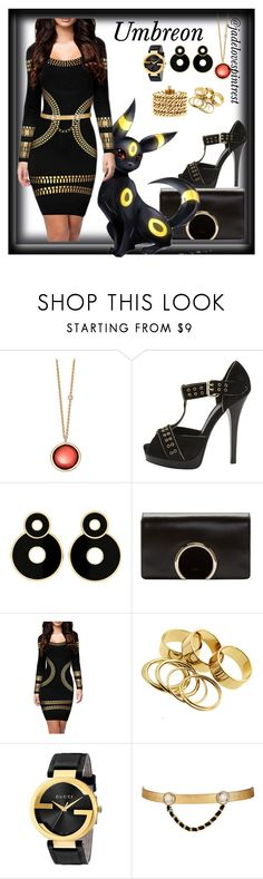 """Umbreon Style"" by jadelovespintrest ❤ liked on Polyvore featuring Astley Clarke, Fendi, Chloé, Gucci, Maison Mayle and Juicy Couture"