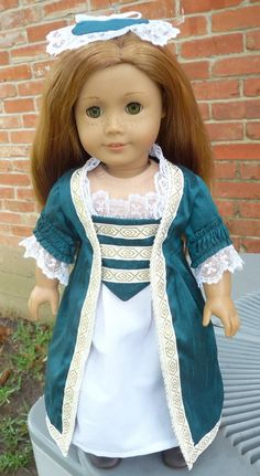 RESERVED FOR Kristen, three (3) Colonial Dresses by Designed4Dolls on Etsy  $65.00