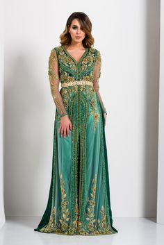 "Kaftan Fes – Collection ""Four Seasons"" Kaftan Moroccan, Morrocan Dress, Kaftan Tops, Arab Fashion, Muslim Fashion, Hippy Chic, Caftan Dress, Hijab Dress, Gowns Of Elegance"