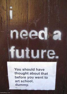 I Need A Future