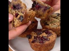 Baked Oatmeal To-Go....use g/f oats.