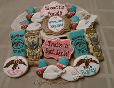 Duck Dynasty 3yr old's Birthday | Cookie Connection