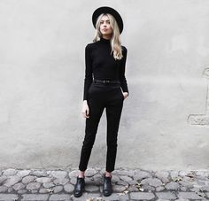 Get this look: http://lb.nu/look/7814034 More looks by Ebba Zingmark: http://lb.nu/ebbaz Items in this look: Reval Denim Guild Hat, Reval Denim Guild Pants, Henry Kole Boots #edgy #minimal #street