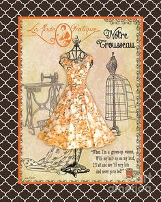 I uploaded new artwork to plout-gallery.artistwebsites.com! - 'French Dress Shop-C2' - http://plout-gallery.artistwebsites.com/featured/french-dress-shop-c2-jean-plout.html via @fineartamerica