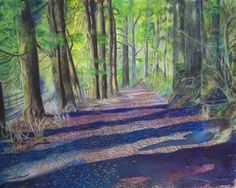 Title: Hakone Japan Artist: Jo-Anne Gazo-McKim Medium: Mixed Media - Watercolour,coloured Pencil On Watercolour Paper