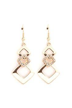 Jenna Earrings in Gold