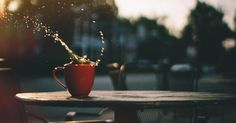 Photography Splah Cafe Coffee splash Table Coffee Cup