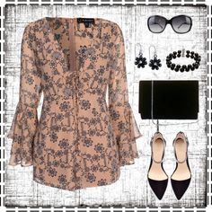 romper by gallant81 on Polyvore featuring polyvore, fashion, style, For Love & Lemons, Zara, Belk & Co., 2028, Bulgari and clothing