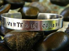 Game of Thrones inspired bracelet - WINTER IS COMING