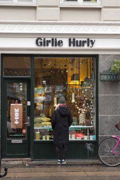 Girlie Hurly on Istedgade, Vesterbro, Copenhagen Amalie loves Denmark Butik Girlie Hurly in Kopenhagen