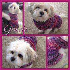 Crochet dog sweater | Crocheting