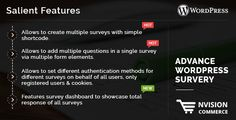 """Create Multiple Surveys Only with a Simple Shortcode via our Advance Wordpress Survey & Connect to Your Visitors more easily with """"Advance Wordpress Survery Plugin""""."""