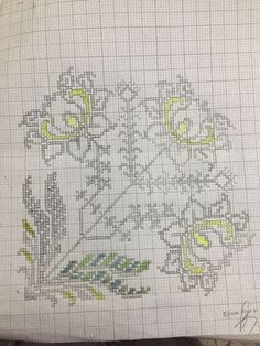 Folk Embroidery, Filet Crochet, Diy Art, Cross Stitch Patterns, Projects To Try, Bullet Journal, Quilts, Sewing, Crafts