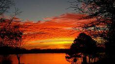 Ford Lake Sunrise - Photo Taken by Jeff Allen