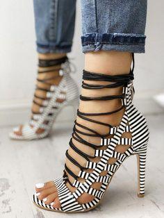 high heels – High Heels Daily Heels, stilettos and women's Shoes Lace Up Heels, Pumps Heels, Stiletto Heels, High Heels, Heeled Sandals, High Heel Sneakers, Sandals Outfit, Strap Heels, Flat Sandals