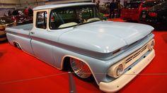 Chevrolet C10 1962 at Essen Motorshow - Exterior and Interior Walkaround