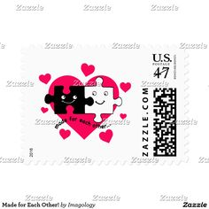Made for Each Other! Postage