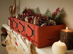 Cinnamon pine cone box