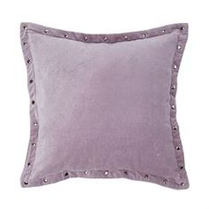Beth Nailhead Border Decorative Pillow