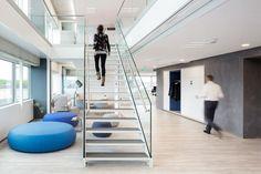 Rabobank Zaanstreek featuring De Vorm's furniture.  Interior architect: D+Z architecten.  Project designer: GZ Kantoorinrichters.  Photography: Stijlstijl fotografie.  http://www.devorm.nl/projects/rabobank-zaanstreek  #devorm