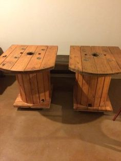 Refurbished Rustic Wooden Table - Cable Spools in Washington Square West, Philadelphia ~ Krrb Classifieds