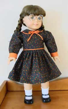 Brightly Colored Dress for American Girl Doll Molly | eBay