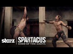 Spartacus   Gods of the Arena - Trailer #2   STARZ