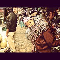 Solola market #guatemala #travel #fabric #culture #mayan #baby #photography