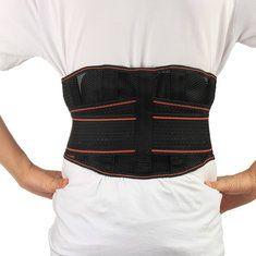 Back Support Brace Belt Lumbar Lower Waist Double Adjust Monitor, Health And Beauty Tips, Braces, Beauty Skin, Belt, Stress, Management, Fashion, Lower Backs