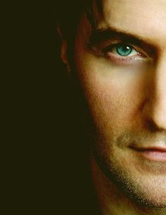Richard Armitage aka Thorin Oakenshield.  Love his eyes.  So damn hot I'm surprised he didn't burn up the movie screen.