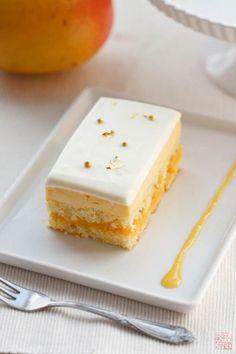 Pastel de mango y fruta de la pasión - Mango Passion Fruit Cake