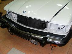 Mercedes W107 450SL (1973) Restoration