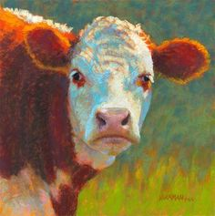 """Daily Paintworks - """"Charlie"""" by Rita Kirkman"""