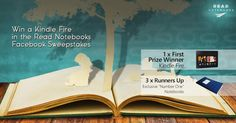 Win a Kindle Fire with Read Notebooks http://woobox.com/5smfqh/foyt7f
