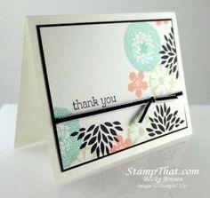 2014 Petal Parade handmade card