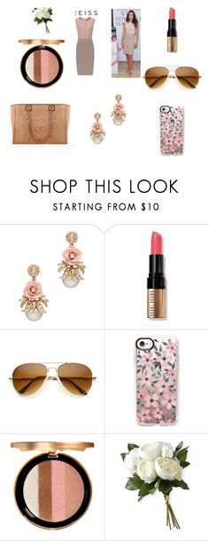 """contest"" by jasna91 ❤ liked on Polyvore featuring Bobbi Brown Cosmetics, Casetify, Chanel, Too Faced Cosmetics and National Tree Company"
