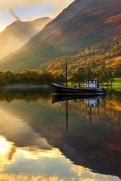 Loch Lochy, Highlands of Scotland
